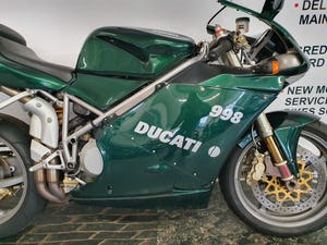 2003 DUCATI 998 MATRIX RELOADED EDITION IMMACULATE CONDITION For Sale (picture 2 of 12)