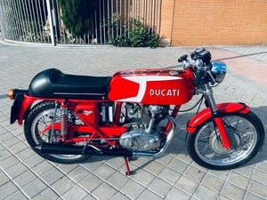1974 Ducati 250cc 24 hours For Sale (picture 1 of 6)