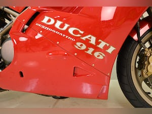 1996 DUCATI 916 BIOPOSTO For Sale by Auction (picture 4 of 11)