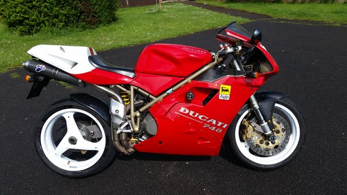 Picture of Ducati 748 1998 - not concours but a lovely looking bike. For Sale