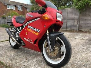 1991 Rare first edition White Frame, White Wheel Ducati 900SS For Sale (picture 1 of 10)