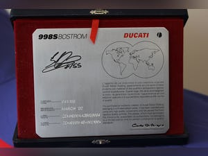2003 Ducati 998S BEN BOSTROM ONLY 2 MILES - COLLECTORS DREAM For Sale (picture 3 of 5)