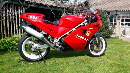 Picture of 1990 Ducati 851 SuperSport For Sale