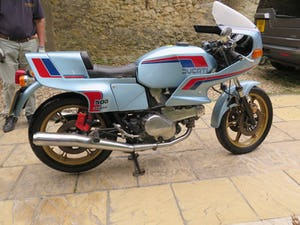 1982 Ducati Pantah SL500 -14/10/2021 For Sale by Auction (picture 1 of 1)