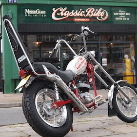 Picture of 1976 Fantic Chopper 50cc Fully Restored TX130, With Pedals. For Sale