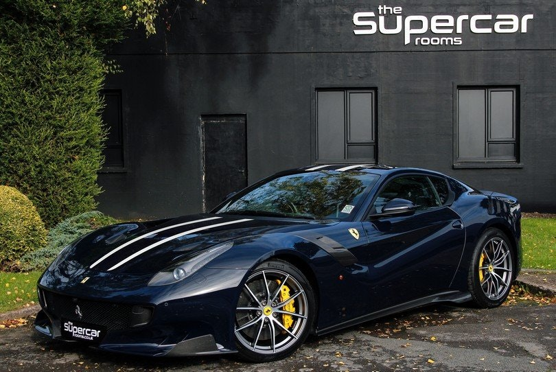 2016 Ferrari F12 TDF - UK Supplied - RHD - 1 Owner - 5k Miles For Sale (picture 1 of 6)