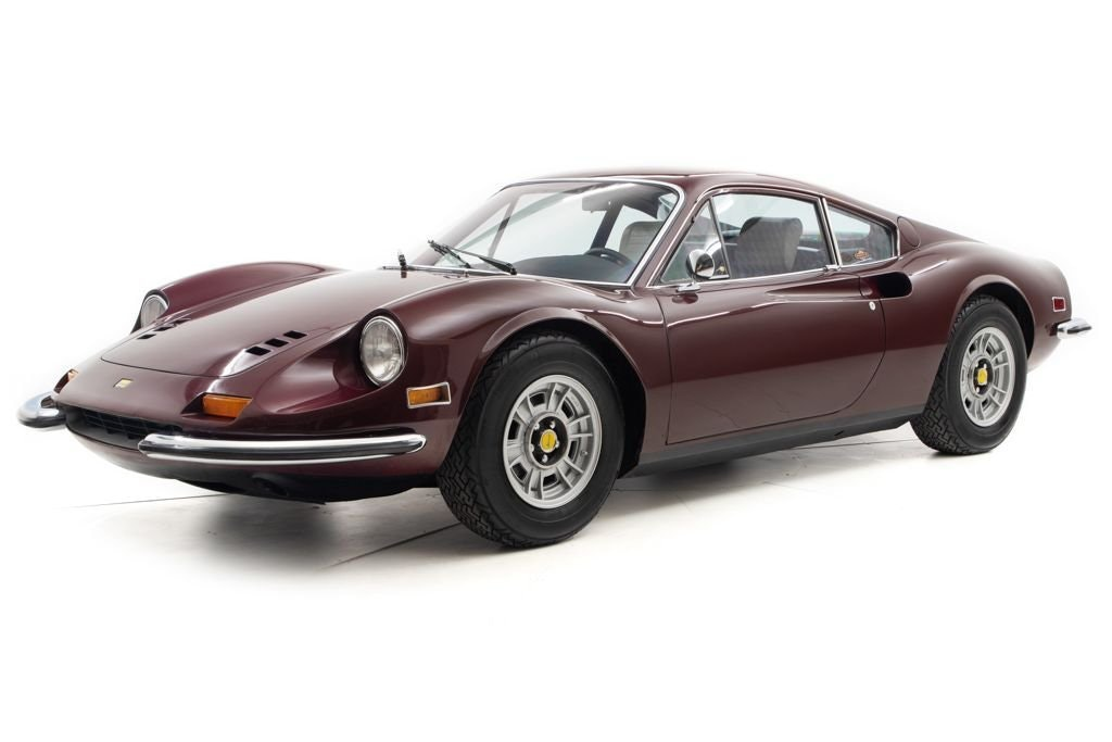1972 Ferrari 246 GT Dino Coupe low miles Driver Manual $289k For Sale (picture 1 of 6)