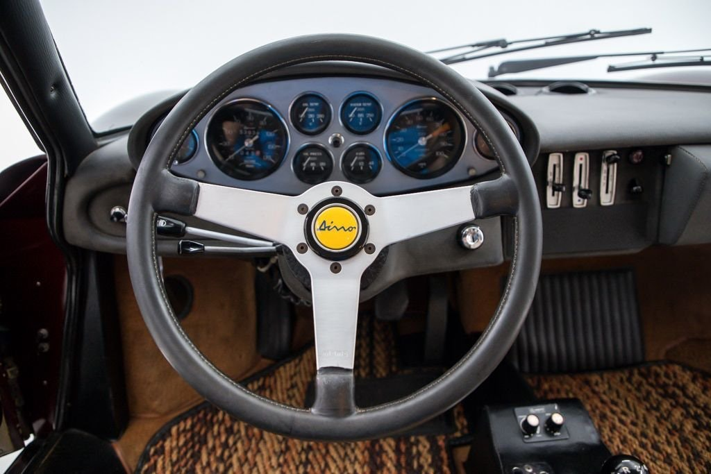 1972 Ferrari 246 GT Dino Coupe low miles Driver Manual $289k For Sale (picture 4 of 6)