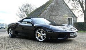 Picture of 2005 Ferrari 360 F-1 Spider just 6749 Miles FFSH For Sale