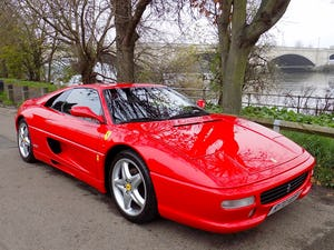 1998 FERRARI F355 GTS F1 - LHD - ONLY 22,000 MILES! For Sale (picture 1 of 12)