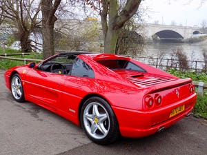 1998 FERRARI F355 GTS F1 - LHD - ONLY 22,000 MILES! For Sale (picture 2 of 12)