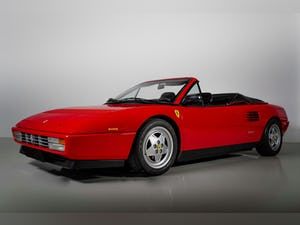 1992 Ferrari Mondial T Convertible one owner for 29 years For Sale (picture 1 of 50)