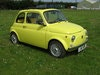 Picture of 1970 FIAT 500L. FULLY RESTORED 3 YEARS AGO. REBUILT ENGINE.  SOLD