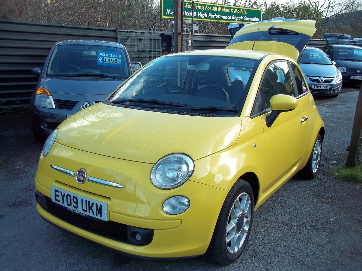 2009 Fiat 500 Sport 1.2  For Sale (picture 1 of 6)