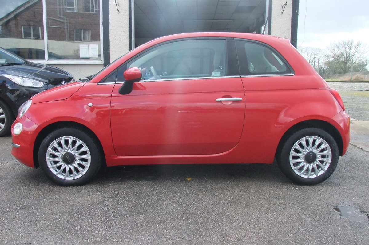 2016 FIAT 500 1.2 LOUNGE 3DR For Sale (picture 2 of 6)