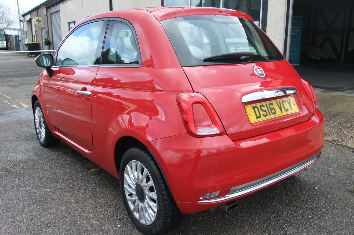 2016 FIAT 500 1.2 LOUNGE 3DR For Sale (picture 3 of 6)