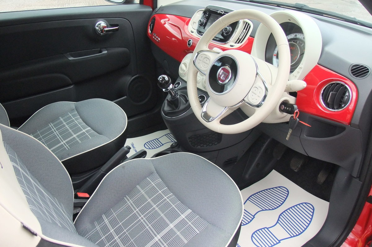 2016 FIAT 500 1.2 LOUNGE 3DR For Sale (picture 6 of 6)