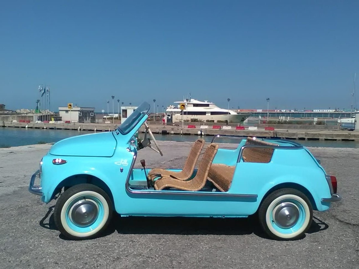 1968 CONVERTED Fiat 500 Vintage Model Holyday Beach car  For Sale (picture 1 of 6)