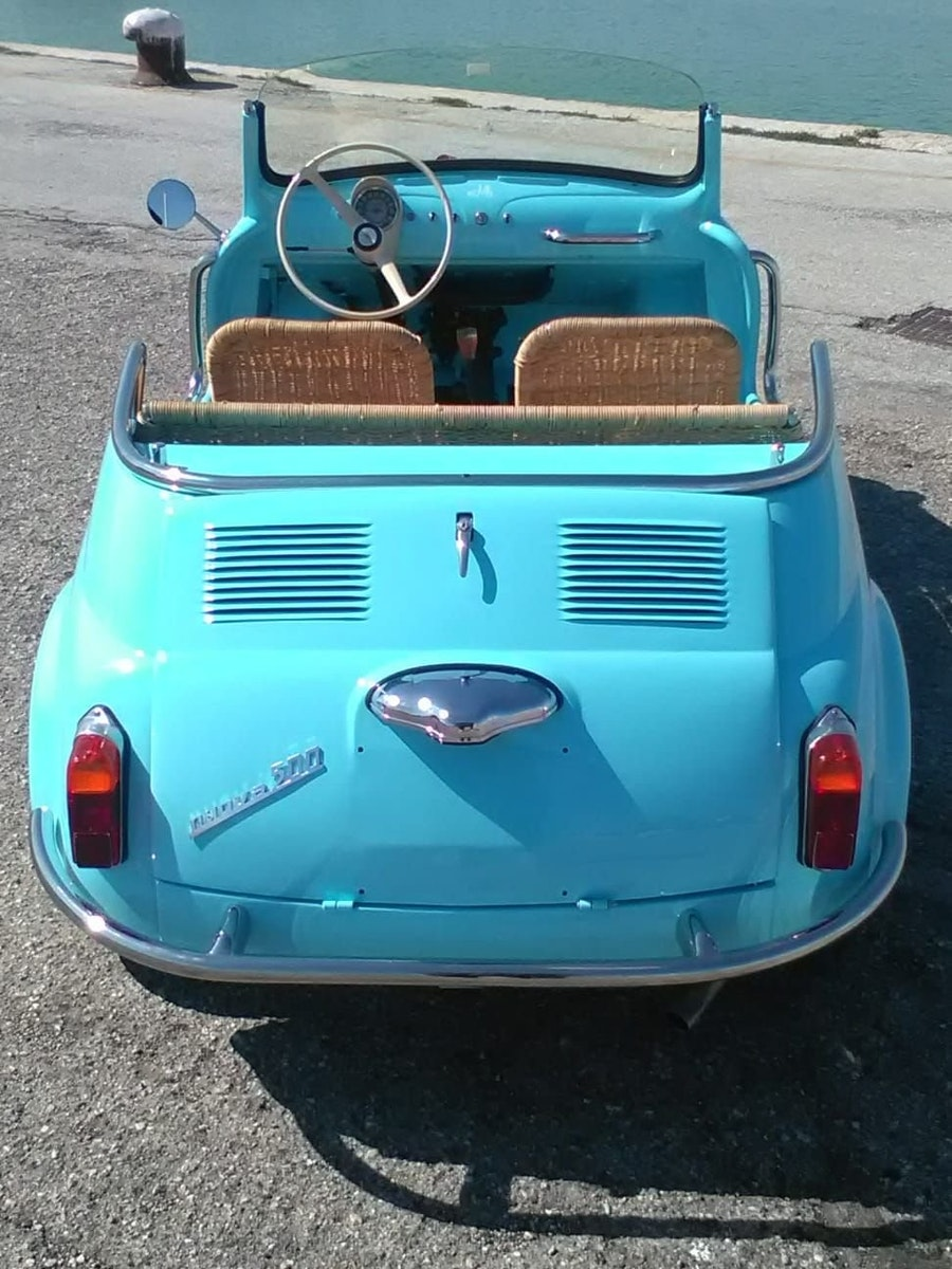 1968 CONVERTED Fiat 500 Vintage Model Holyday Beach car  For Sale (picture 4 of 6)