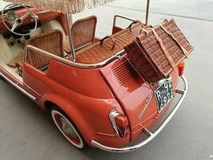 1970 CONVERTED  lhd Fiat 500 Vintage Model JOLLY Holyday car For Sale (picture 2 of 6)