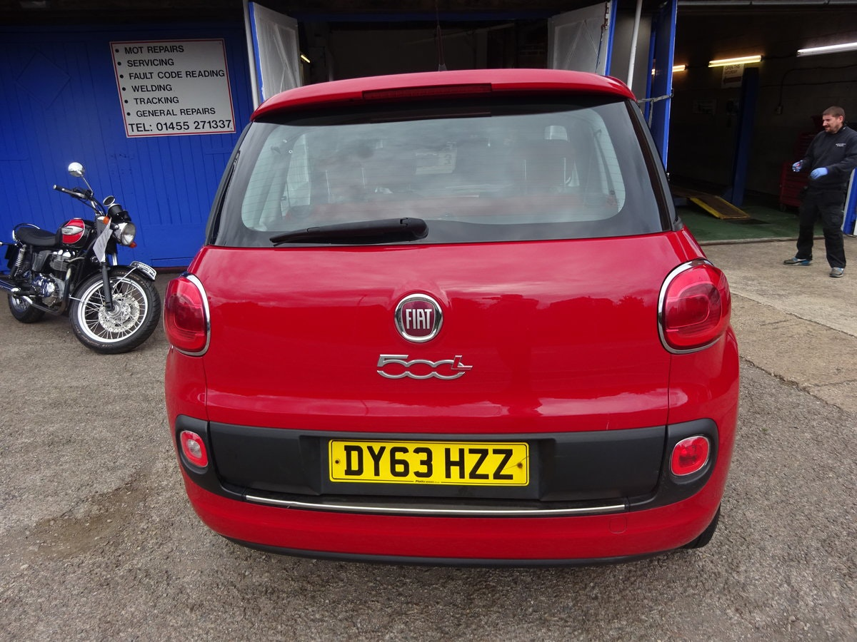 FIAT 500 L  MPV RED DIESEL 70,000 MILES F.S.H NEW MOT 2013  For Sale (picture 4 of 6)