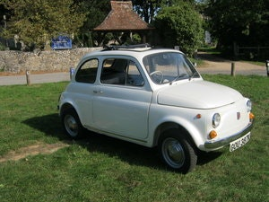 Picture of 1972 FIAT 500L. FANTASTIC RESTORATION. PEARLESCENT WHITE SOLD