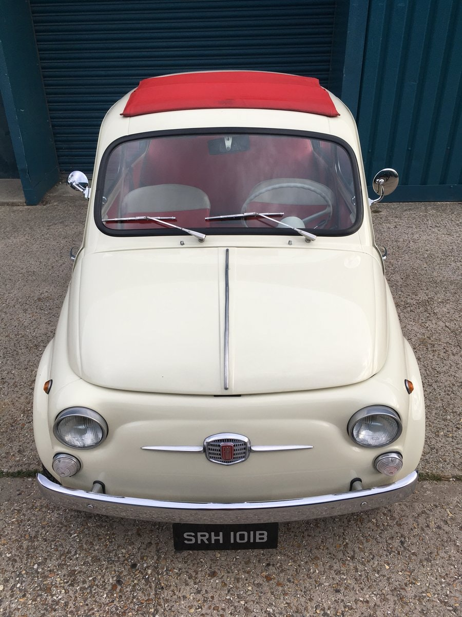 1964 Fiat 500 D For Sale (picture 2 of 6)