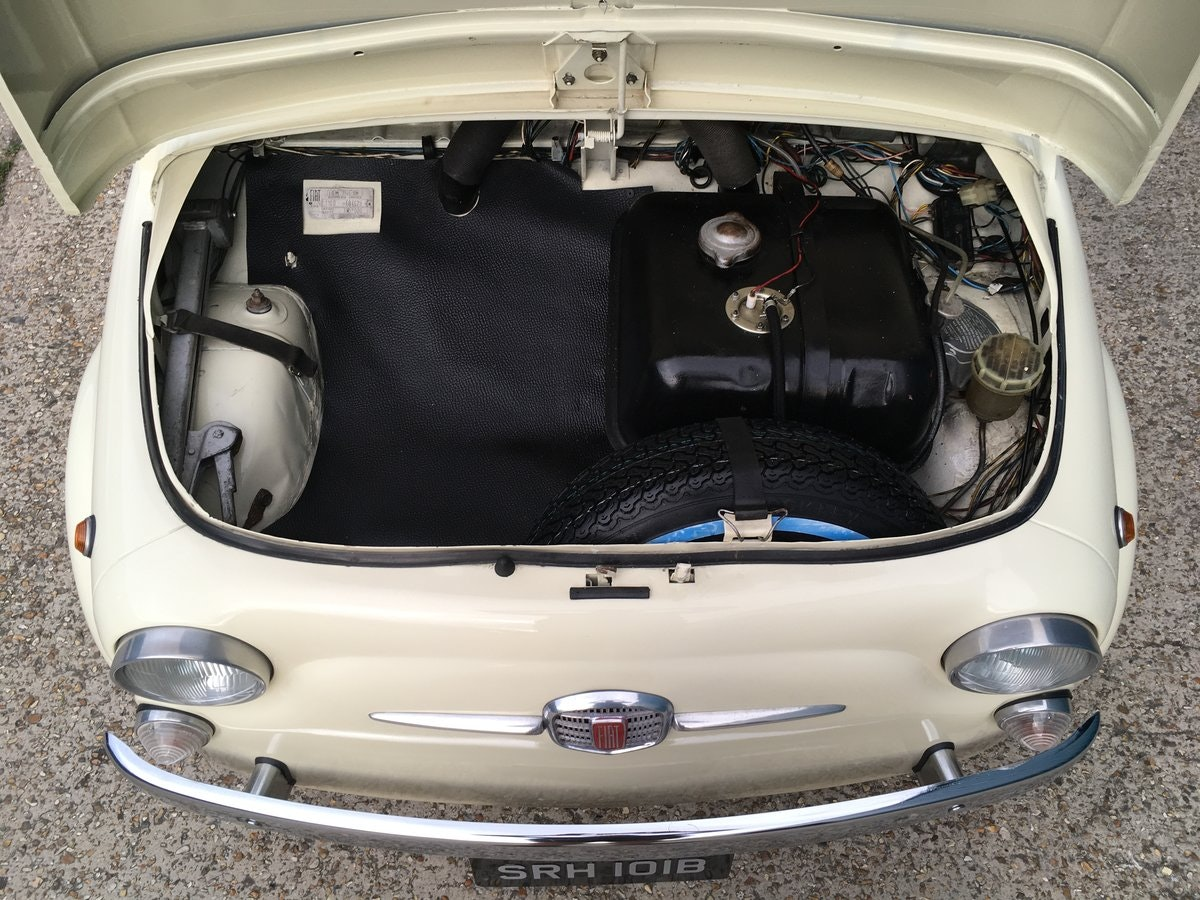 1964 Fiat 500 D For Sale (picture 4 of 6)