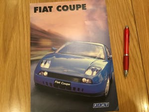 1997 Fiat coupe brochure For Sale (picture 1 of 1)