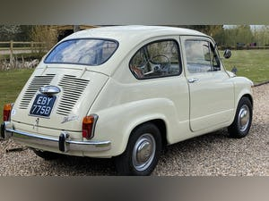 FIAT 600D -1964 -STUNNING CONDITION -RARE. For Sale (picture 3 of 11)
