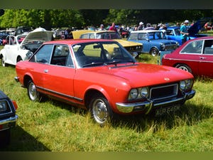 1974 Fiat 124 sports coupe orange For Sale (picture 2 of 8)