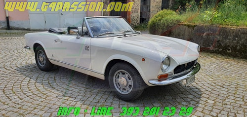 """Picture of 1971 FIAT 124 Spider Sport 1.608cc BS1 """"Italiana"""" For Sale"""