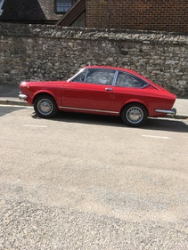 Picture of 1971 Fiat 850 coupe red exceedingly scarce car For Sale