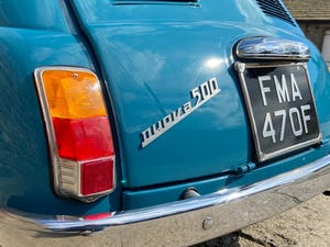 1968 Fiat 500F For Sale (picture 7 of 12)
