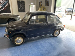 1967 FAT 600 D BARN FIND Original RHD For Sale (picture 3 of 7)