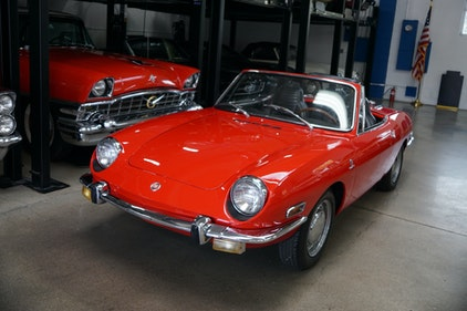 Picture of 1971 Fiat 850 Spyder Roadster by Bertone For Sale