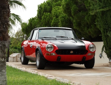 Picture of 1973 Fiat 124 Spider Abarth Rally Stradale, fully serviced For Sale