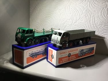 Picture of 1947/55 boxed dinky foden For Sale