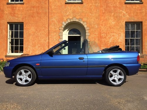 1997 Ford Escort Mk6 Cabriolet 1.6 Calypso *** NOW SOLD *** For Sale (picture 1 of 6)