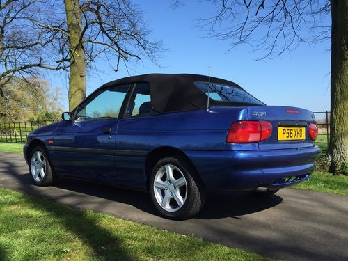 1997 Ford Escort Mk6 Cabriolet 1.6 Calypso *** NOW SOLD *** For Sale (picture 4 of 6)