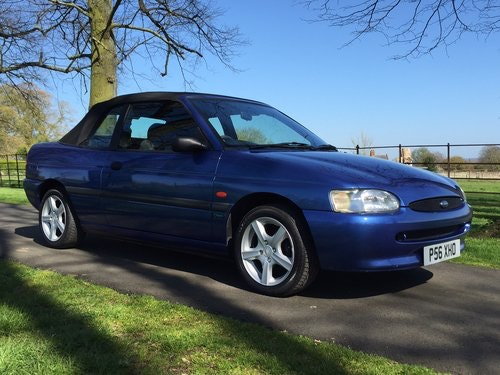 1997 Ford Escort Mk6 Cabriolet 1.6 Calypso *** NOW SOLD *** For Sale (picture 5 of 6)
