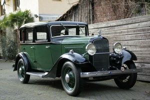 Picture of Ford Model B Fordor, 1934, RHD SOLD