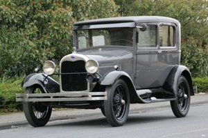 Picture of Ford Model A Tudor 1929, LHD SOLD
