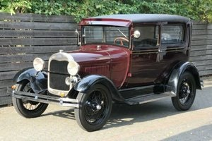 Picture of Ford Model A Tudor 1928, LHD, mit TÜV SOLD