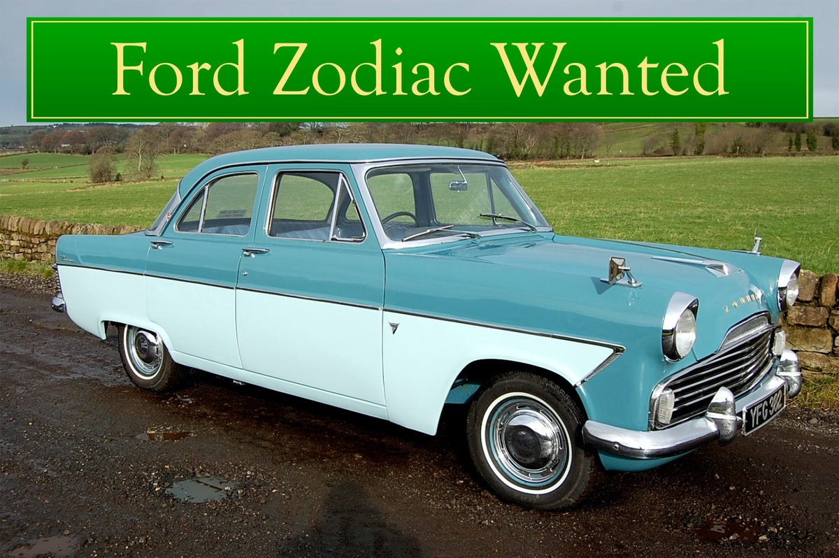 FORD ZODIAC MK2 WANTED, CLASSIC CARS WANTED, INSTANT PAYMENT (picture 1 of 6)