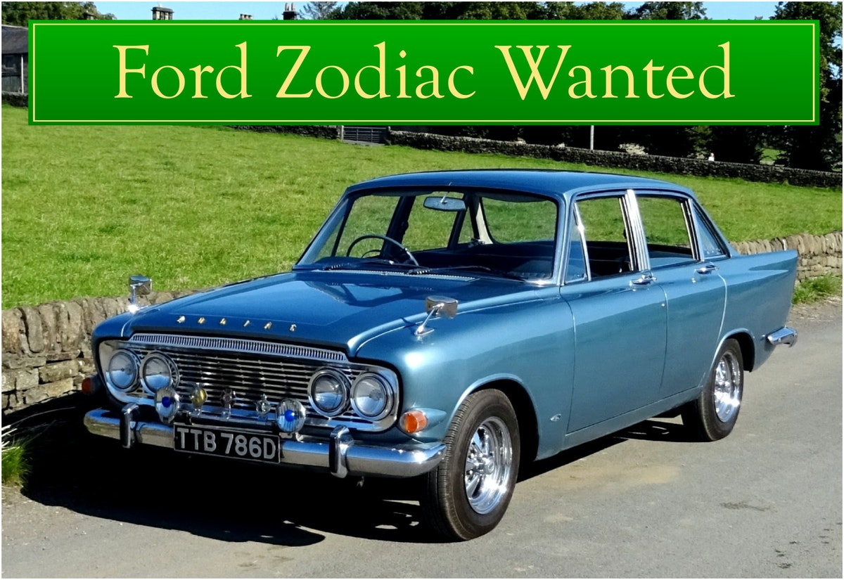 FORD ZODIAC MK3 WANTED, CLASSIC CARS WANTED, INSTANT PAYMENT (picture 1 of 6)