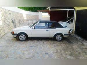 1985 MK 3 XR3i In original condition Low mileage For Sale (picture 1 of 6)