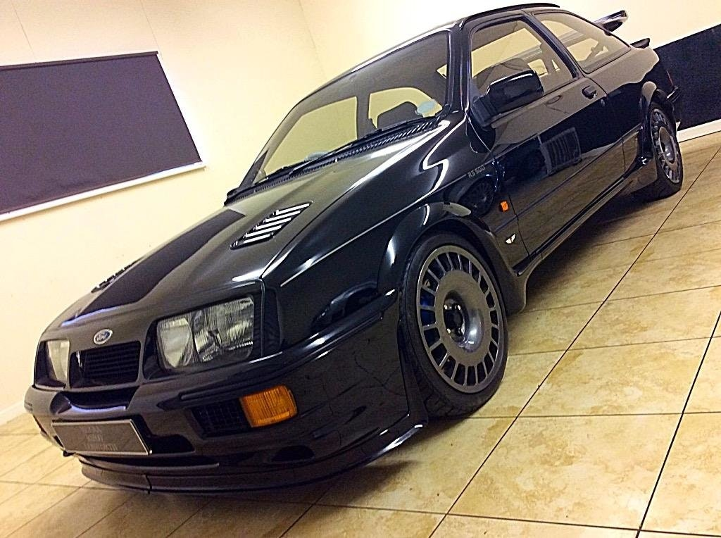 1987 FORD SIERRA RS500 COSWORTH GENUINE PRISTINE + ULTIMATE SPEC For Sale (picture 1 of 6)