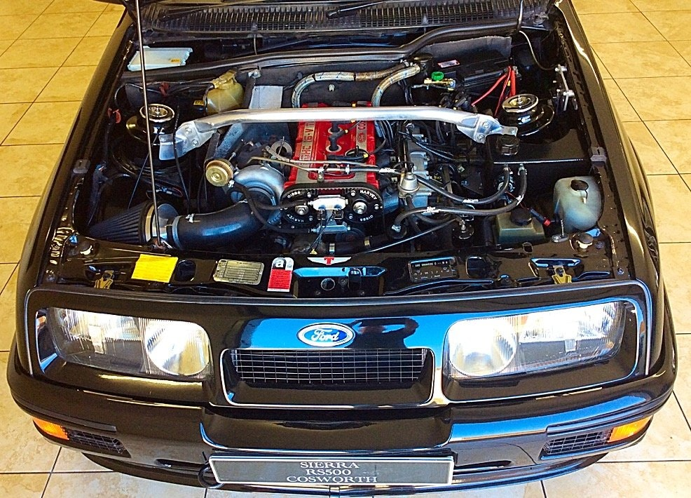 1987 FORD SIERRA RS500 COSWORTH GENUINE PRISTINE + ULTIMATE SPEC For Sale (picture 2 of 6)