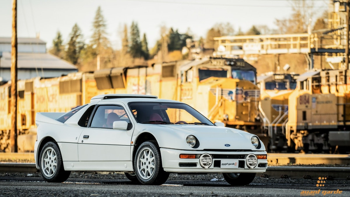 1986 Ford RS200 Fun & Fast Rally Car Rare 1 of 148 made For Sale (picture 1 of 6)